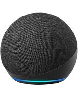 Amazon Echo Dot (4th generation) Bluetooth Smart Speaker - Alexa Supported - Charcoal