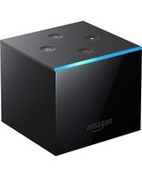 Amazon Fire TV Cube Network Audio/Video Player - Wireless LAN - Black